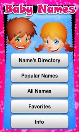 Kids Name Directory App Development